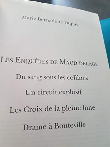 9782298063905: Les Enquêtes de Maud Delage
