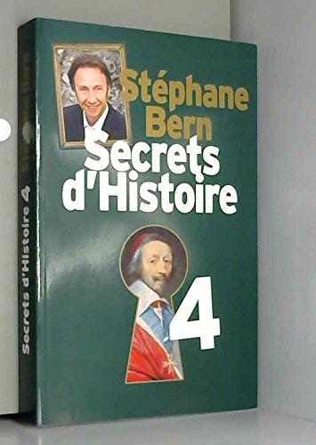 9782298086577: Secrets d histoire t4