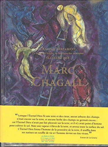 9782298090338: L'Ancien Testament. La Genèse, l'Exode, le Cantique des Cantiques, illustré par Marc Chagall