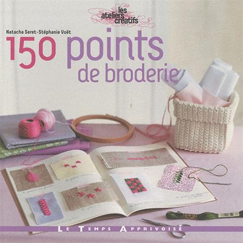 150 points de broderie: Voet Stephanie