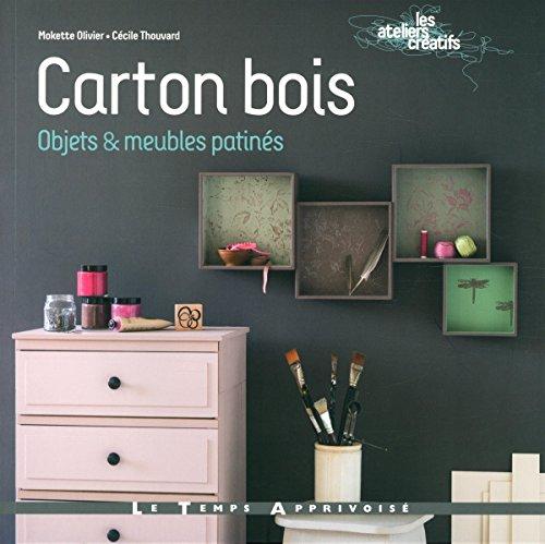 9782299002545: Carton bois Objets & meubles patinés