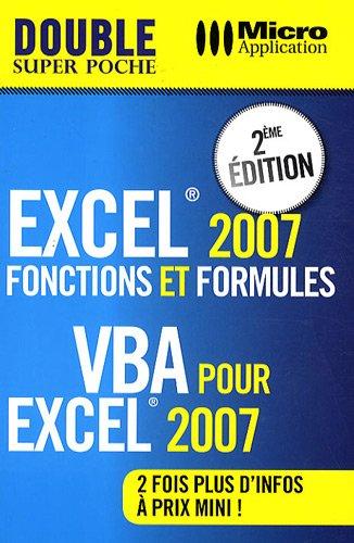 9782300019746: Excel 2007 : Fonctions et formules & VBA pour Excel 2007