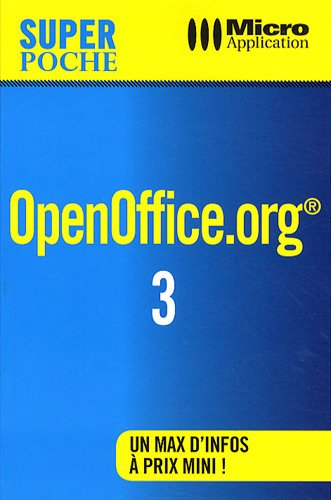 9782300023569: OpenOffice.org 3 (French Edition)