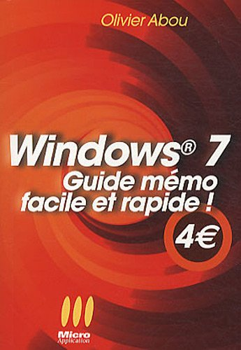 Windows 7 (French Edition): Abou,Olivier