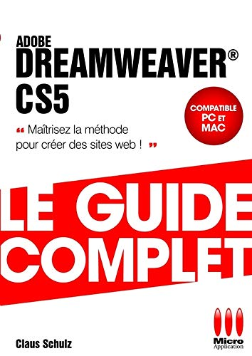 9782300026348: GUIDE COMPLET£DREAMWEAVER CS5