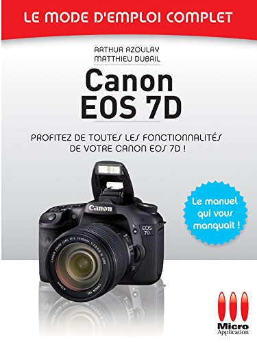 9782300028052: Canon EOS 7D (French Edition)