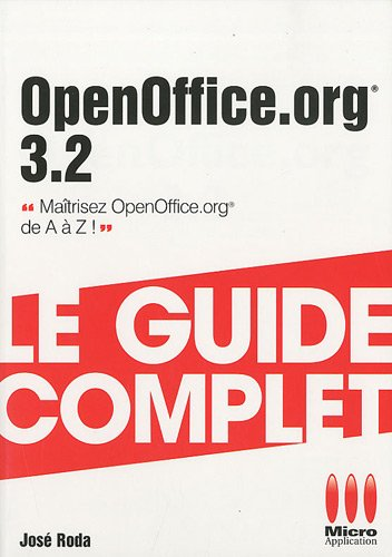 OpenOffice.org 3.2 (French Edition): Roda,Jos�
