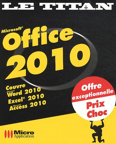 9782300030239: Microsoft Office 2010 (French Edition)