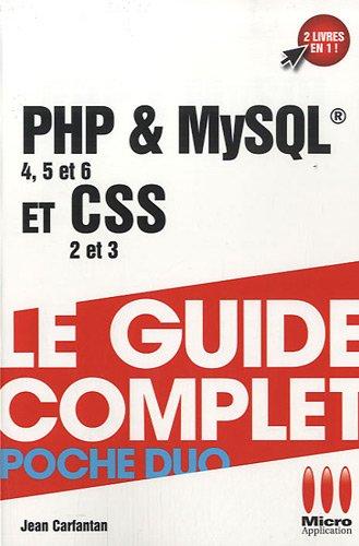 9782300031960: PHP & MySQL & CSS