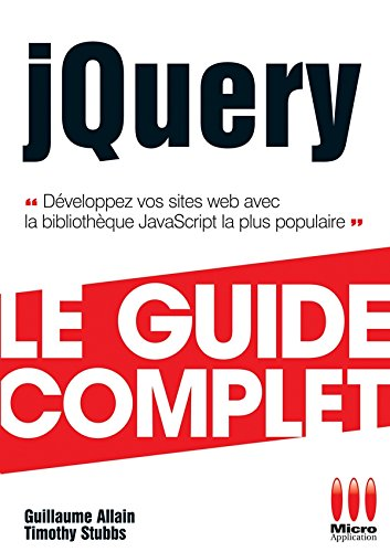 9782300036194: Guide Complet Jquery
