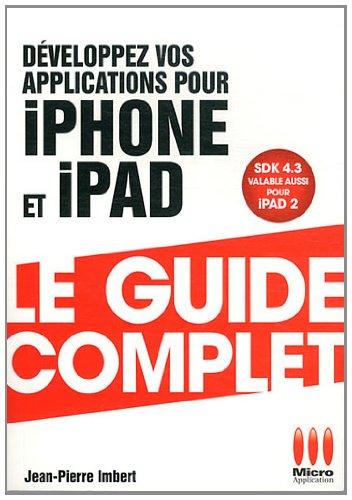 9782300037870: Développez vos applications pour Iphone et Ipad