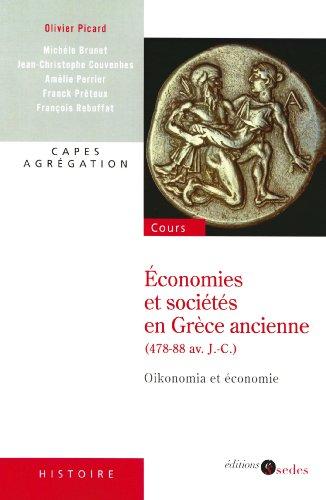 9782301000040: économie et société en Grèce ancienne (478-88 av. J.-C.)