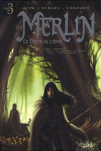 9782302008113: Merlin La quête de l'épée : Prophétie ; La forteresse de Kunjir ; Swerg le maudit