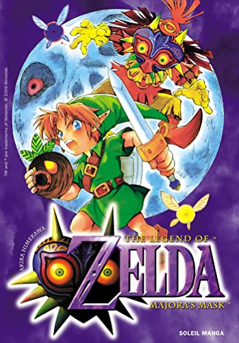 9782302009097: The Legend of Zelda : Majora's mask