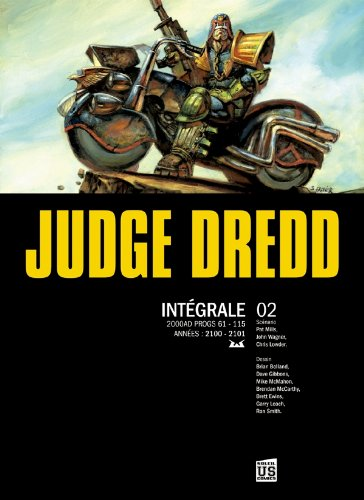 9782302014183: Judge Dredd, Intégrale 2 (French Edition)