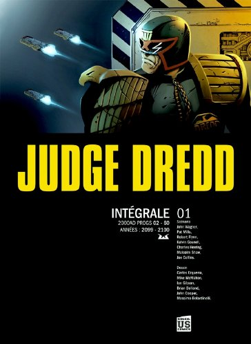 judge Dredd ; intégrale t.1 (230201569X) by Peter Harris