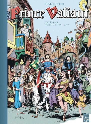 9782302027855: Prince Valiant, Tome 2 : Intégrale 1939-1940