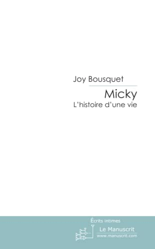 9782304003062: Micky (French Edition)