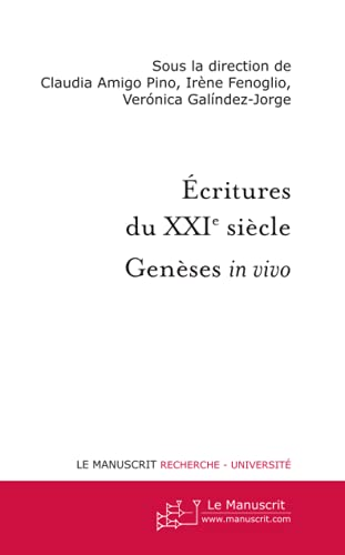 9782304040104: ECRITURES DU XXIE SIECLE (MT.LITTERATURE)