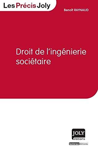 Droit de l'ingénierie sociétaire: Benoît Raynaud