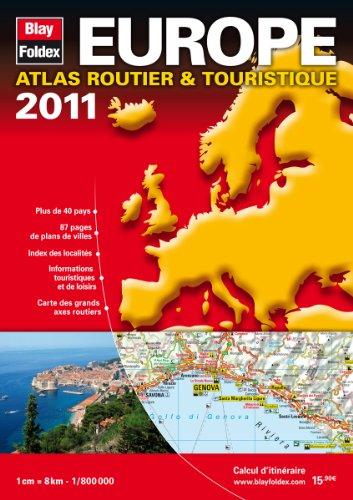 9782309030025: 2011 Europe, Atlas Routier et Touristique