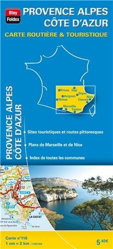 9782309050726: Provence Alpes C�te d'Azur : 1/200 000