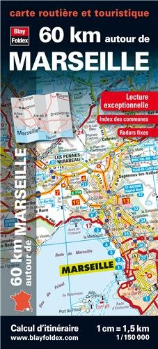 9782309060152: 60 km autour de Marseille : 1/150 000