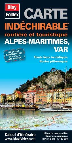 9782309070274: Alpes-Maritimes (06), Var (83) - Carte d�partementale routi�re et touristique (�chelle 1/180 000)