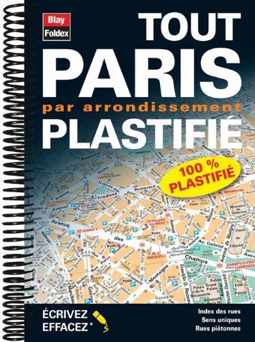 9782309120047: Tout Paris par Arrondissement Plastifi (French Edition)