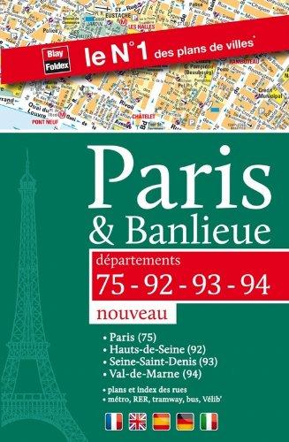 9782309120245: Paris & Banlieue (75-92-93-94) - Plan de Paris par arrondissement et des 3 d�partements de la Petite Couronne