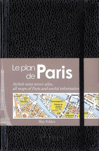9782309120481: Paris : Le plan de Paris chic noir
