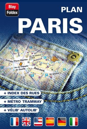 Paris Street Map (French Edition) (2309130281) by Blay