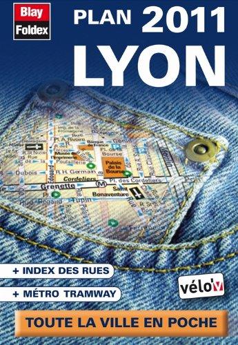 9782309140120: Lyon, plan de poche 2011 - Avec localisation des stations Vélo'v