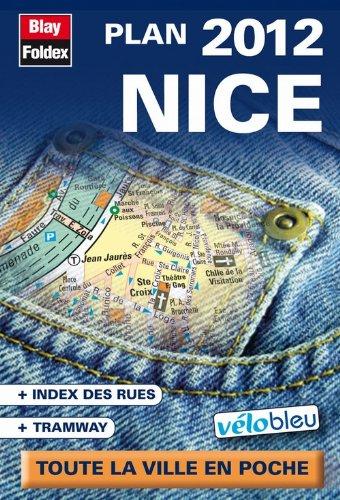 9782309140212: Nice Plan de Poche 2012 - avec Localisation des Stations Vélo Bleu - Echelle 1/10 625