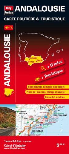 9782309240059: Andalousie, carte routière & touristique
