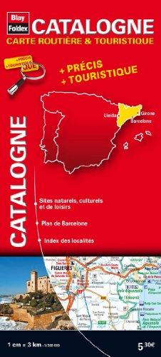 9782309240240: Catalogne : 1/300 000 (Carte routiere et touristique)