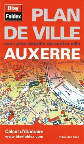 9782309500436: Auxerre : Plan de ville
