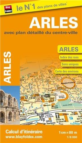 9782309500788: Plan d'Arles avec plan d�taill� du centre-ville