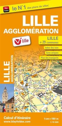 9782309502133: Plan de Ville de Lille Agglomeration