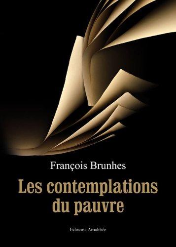 9782310005616: Les contemplation du pauvre (French Edition)