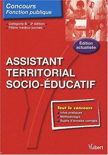 9782311001143: N�105 Assistant territorial socio �ducatif cat�gorie B