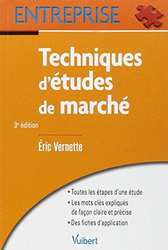 9782311006346: Techniques d'�tudes de march�