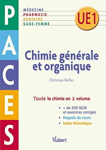 9782311007374: Chimie générale et organique - PACES UE1