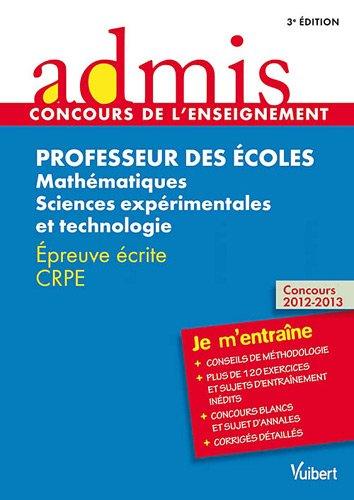Concours Professeur des écoles - Mathématiques et: Marc Loison