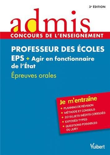 Concours Professeur des écoles - EPS (Education: Marc Loison, Dominique