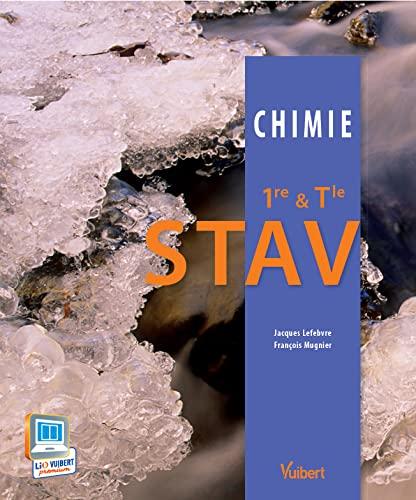 9782311008715: Chimie 1re & Tle STAV - Nouveau programme