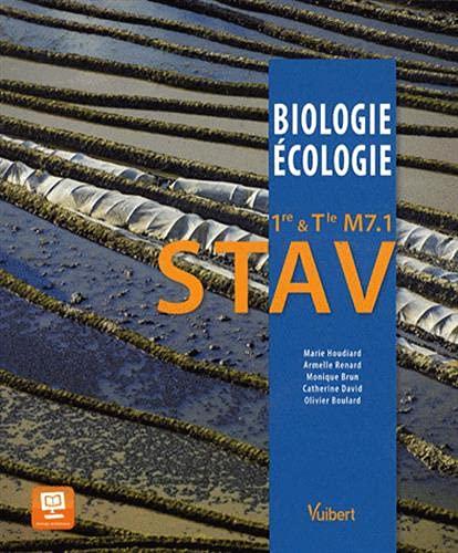 9782311008722: Biologie-Ecologie 1re & Tle M7.1 STAV - Le fait alimentaire - Nouveau programme
