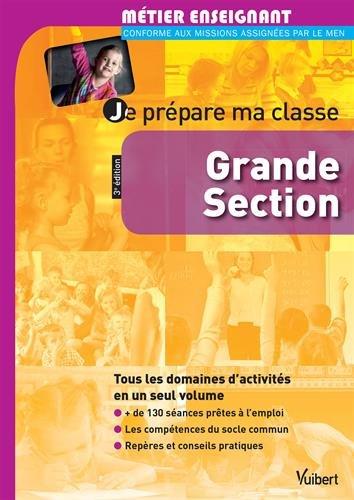 9782311010855: Je pr�pare ma classe de Grande Section - GS