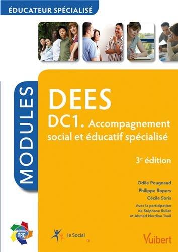 9782311010923: DEES DC1 - Accompagnement social et éducatif spécialisé