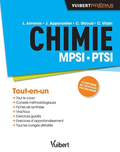 9782311013047: Chimie MPSI PTSI (Vuibert Prépas)